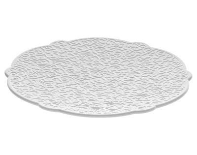 Soucoupe Dressed pour tasse à thé - Alessi blanc en céramique