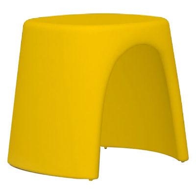 Tabourets jaune achat vente de tabourets pas cher - Tabouret plastique empilable ...