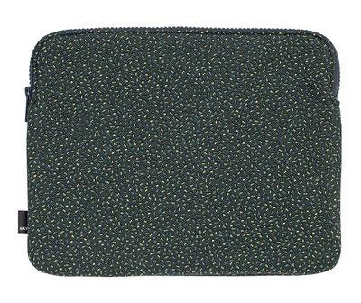 Ventes Flash - Top 5 Rentrée - Housse pour tablette Zip / 26.5 x 21.5 cm - Hay - Vert / Motifs Sprinkles - Tissu Kvadrat