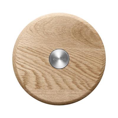 Dessous de plat Nordic Kitchen / Magnétique - Eva Solo inox,chêne en bois