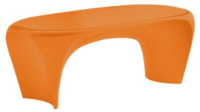 Tavolino Lily di MyYour - Arancio opaco - Materiale plastico