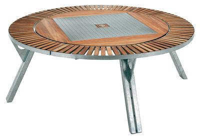 Jardin   Tables De Jardin   Table De Jardin Gargantua / Ø 146 Cm à 200 Conception Impressionnante