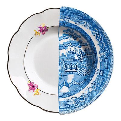Assiette creuse Hybrid Fillide Ø 25,4 cm Seletti multicolore en céramique