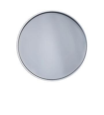 Image of Specchio murale Dash - / Ø 14,5 x Prof 6 cm di Thelermont Hupton - Bianco - Metallo