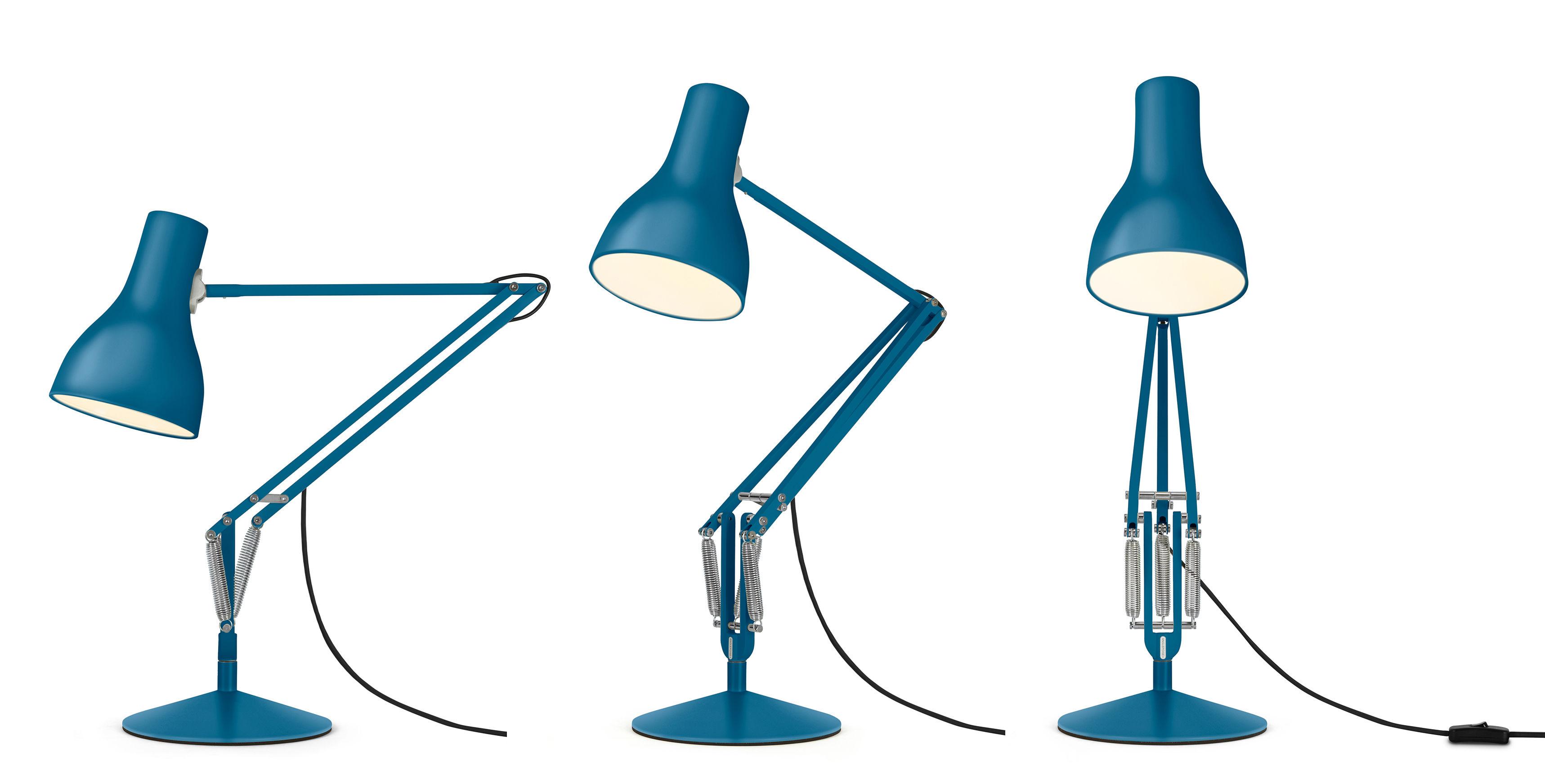 Lampe de table type 75 by margaret howell edition limit e bleu saxon anglepoise - Luminaire industriel la giant collection par anglepoise ...