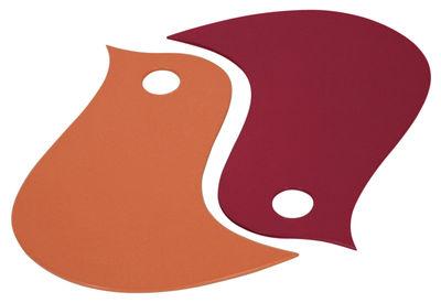 Dessous de plat Oiseaux / Modèle d´exposition - Fermob paprika,piment en métal