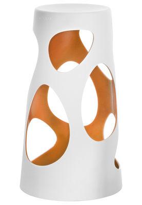 Foto Sgabello bar Liberty - H 74 cm di MyYour - Arancione - Materiale plastico