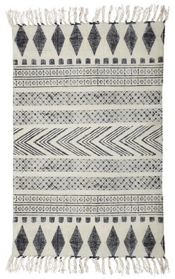 Déco - Tapis - Tapis Block /90 x 200 cm - House Doctor - Block / gris & noir - Coton