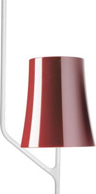 Foto Sospensione Birdie - / 1 braccio di Foscarini - Rosso - Metallo