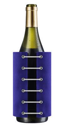 Arts de la table - Bar, vin, apéritif - Rafraîchisseur à bouteille Stay Cool - Eva Solo - Bleu électrique - Gel réfrigérant, Nylon
