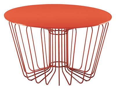 Wire coffee table orange leg ant table top by zanotta made in furniture coffee tables wire coffee table by zanotta orange leg ant table top keyboard keysfo Gallery