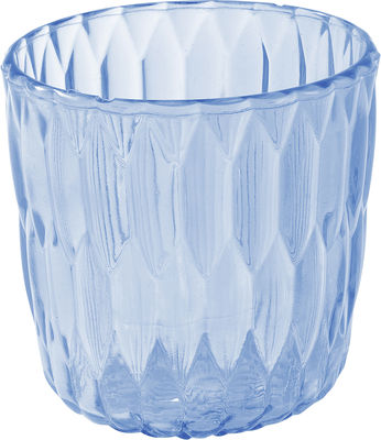 Jelly vase ice bucket transparent blue by kartell for Decoration kartell