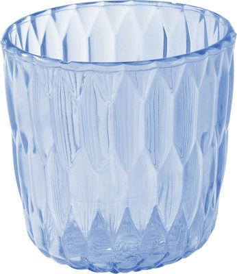 Foto Vaso Jelly - /Secchiello per ghiaccio / Cestino di Kartell - Azzurro trasparente - Materiale plastico