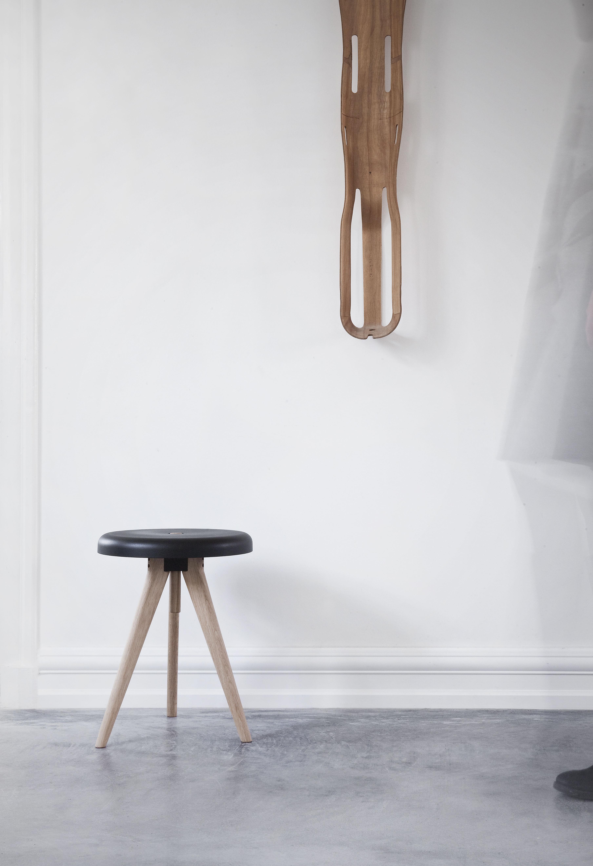 Flip Furniture Flip Around Stool Standing Table Black Sit Light Ash By Menu