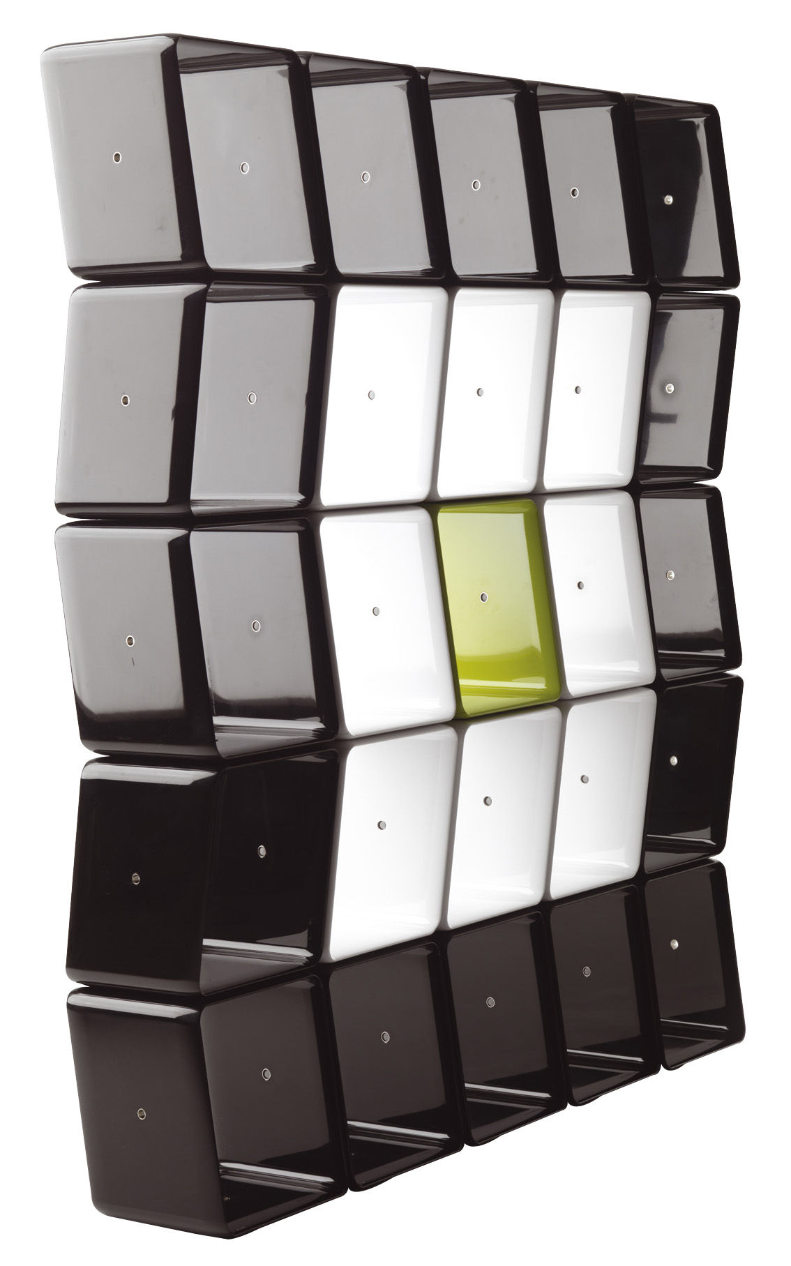 etag re obo cube modulaire noir cerruti baleri made in design. Black Bedroom Furniture Sets. Home Design Ideas