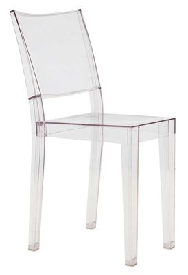 Chaise empilable la marie transparente polycarbonate for Chaise transparente kartell