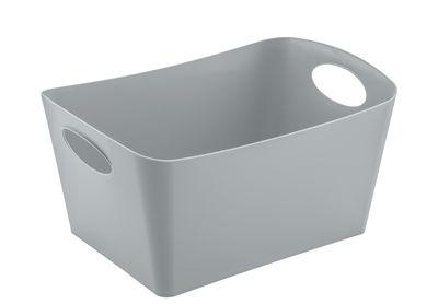 Panier Boxxx M 3,5 L Koziol gris froid opaque en matière plastique