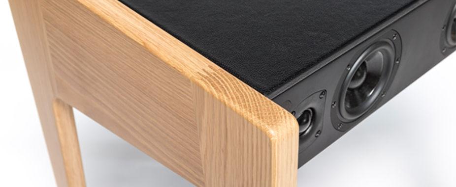enceinte bluetooth ld 130 pour ordi portable ipod iphone l 69 cm ch ne la bo te concept. Black Bedroom Furniture Sets. Home Design Ideas