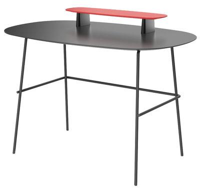 bureau tubo 110 x 70 cm noir tog. Black Bedroom Furniture Sets. Home Design Ideas