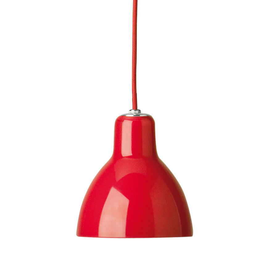 Suspension luxy h5 cordon rouge cordon rouge rouge for Lampe fa r badezimmerspiegel
