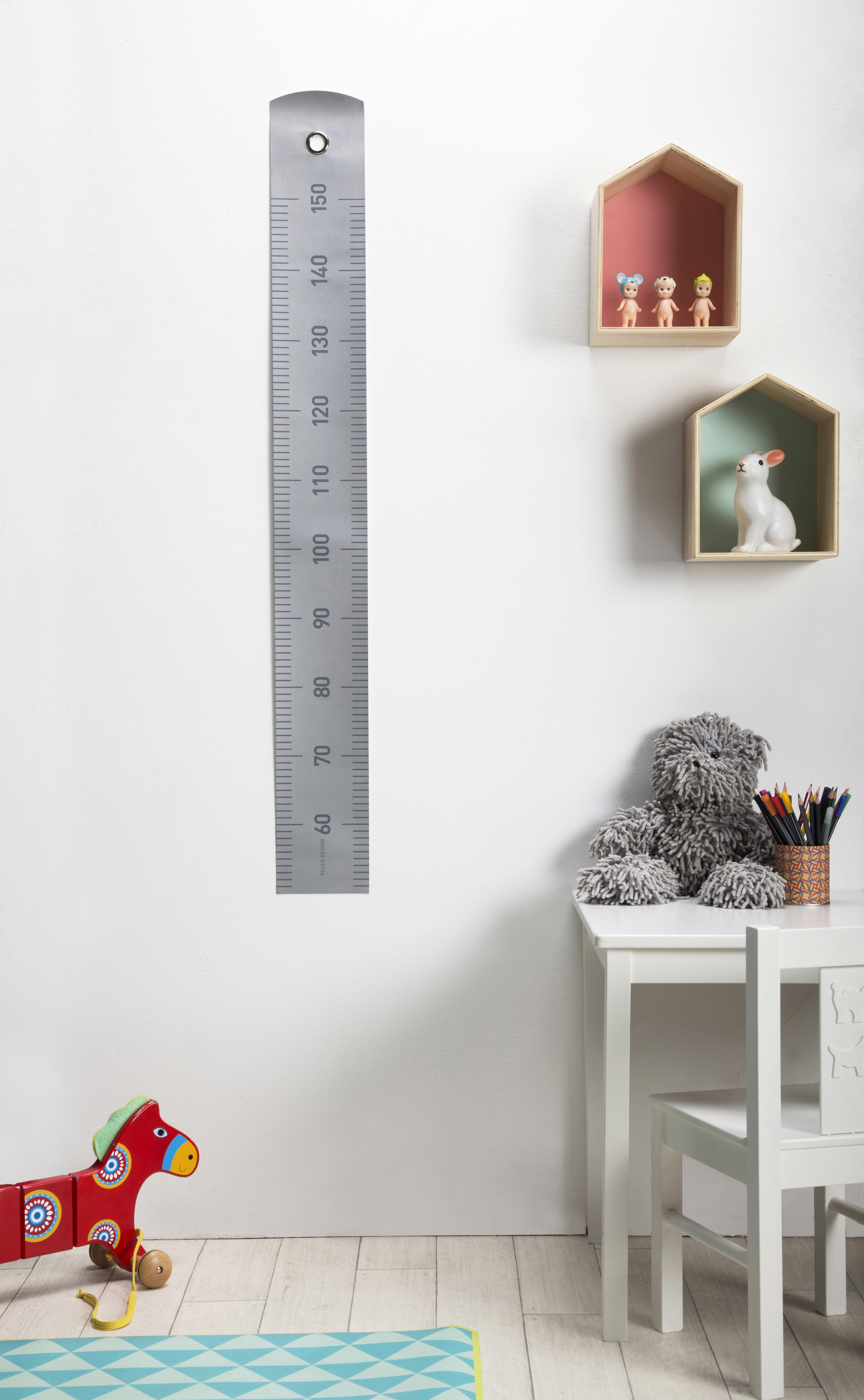 Toise Grow up / A gratter - 50 à 150 cm Gris - Pa Design