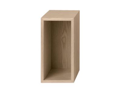 etag re mini stacked small rectangulaire 33x16 cm avec fond fr ne muuto. Black Bedroom Furniture Sets. Home Design Ideas