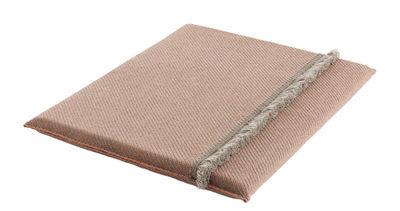 Matelas Garden Layers / Large - Tissé main - Gan pêche,amande en tissu