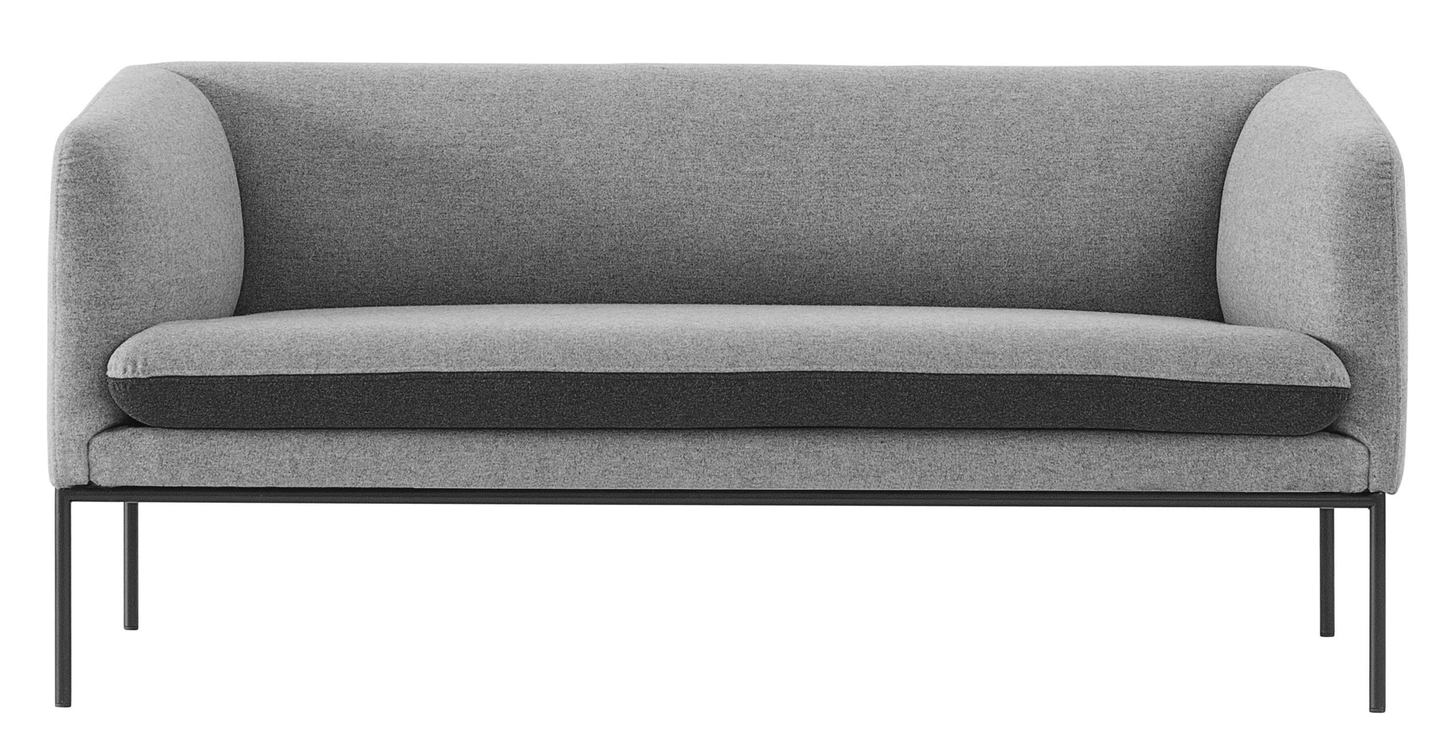 turn l 160 cm 2 sitzer ferm living sofa. Black Bedroom Furniture Sets. Home Design Ideas