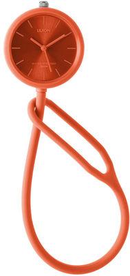 Montre Take Time analogique - Poignet/gousset/à accrocher - Lexon Rouge en Matière plastique