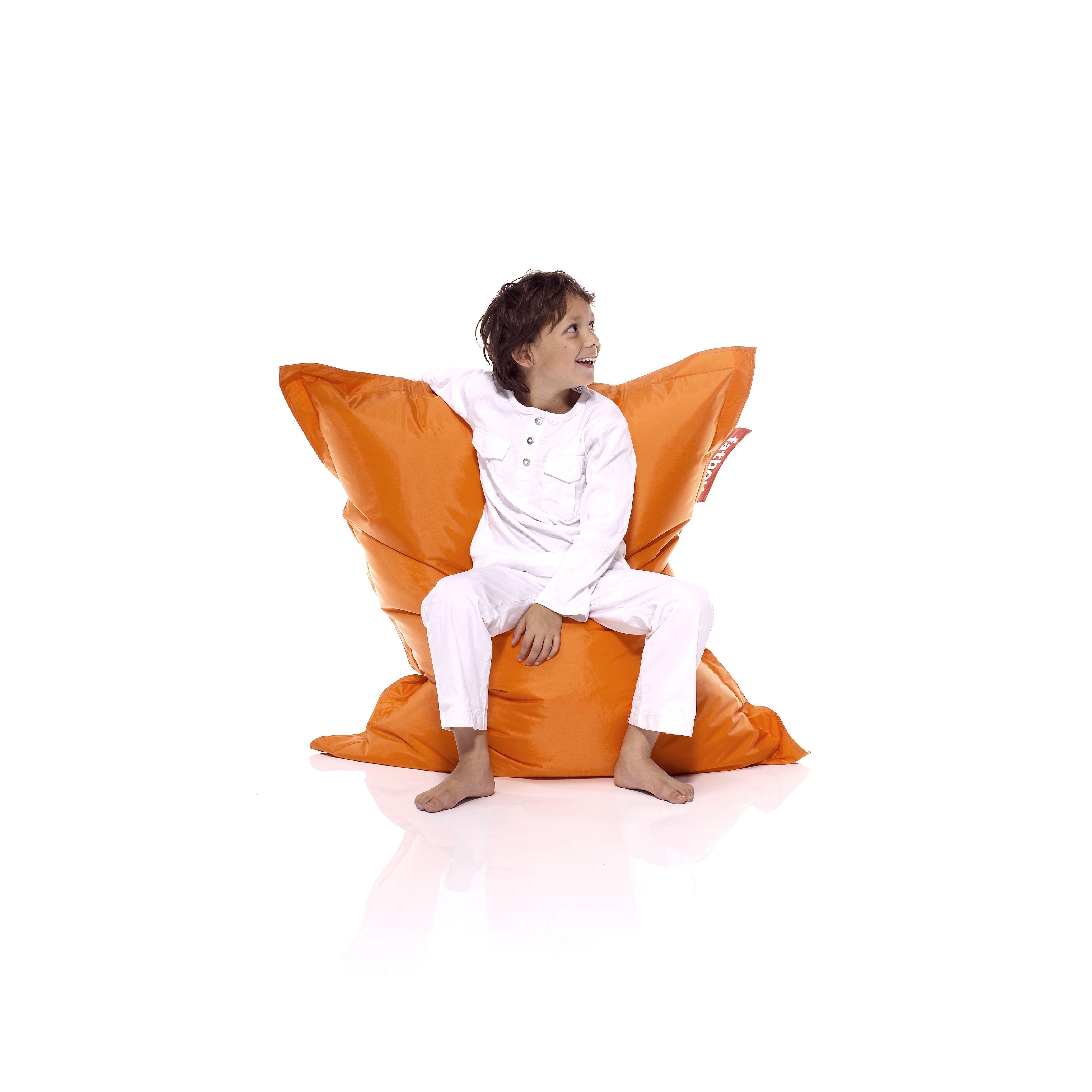 pouf junior pour enfant orange fatboy. Black Bedroom Furniture Sets. Home Design Ideas