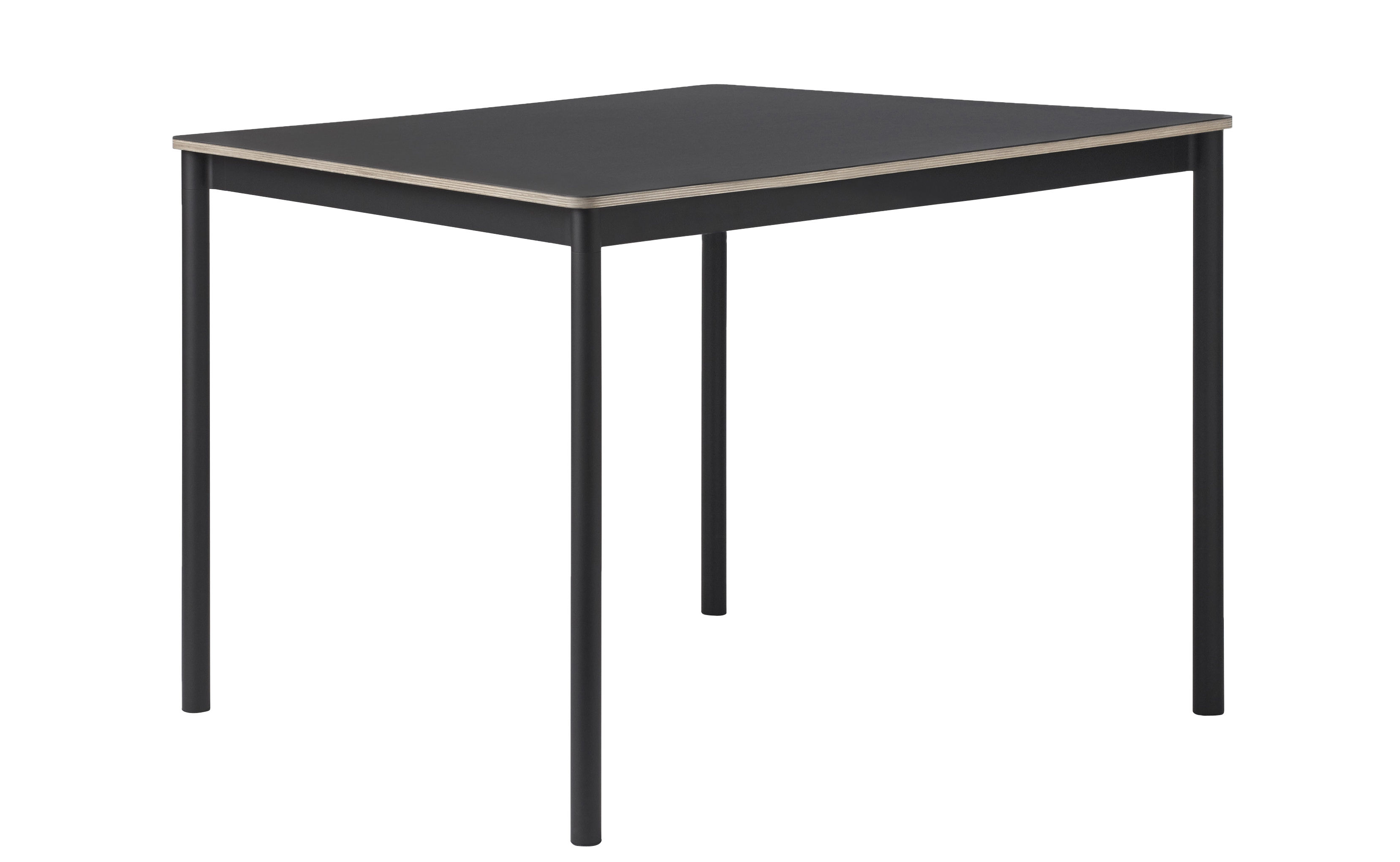 base table 140 x 80 cm black by muuto. Black Bedroom Furniture Sets. Home Design Ideas