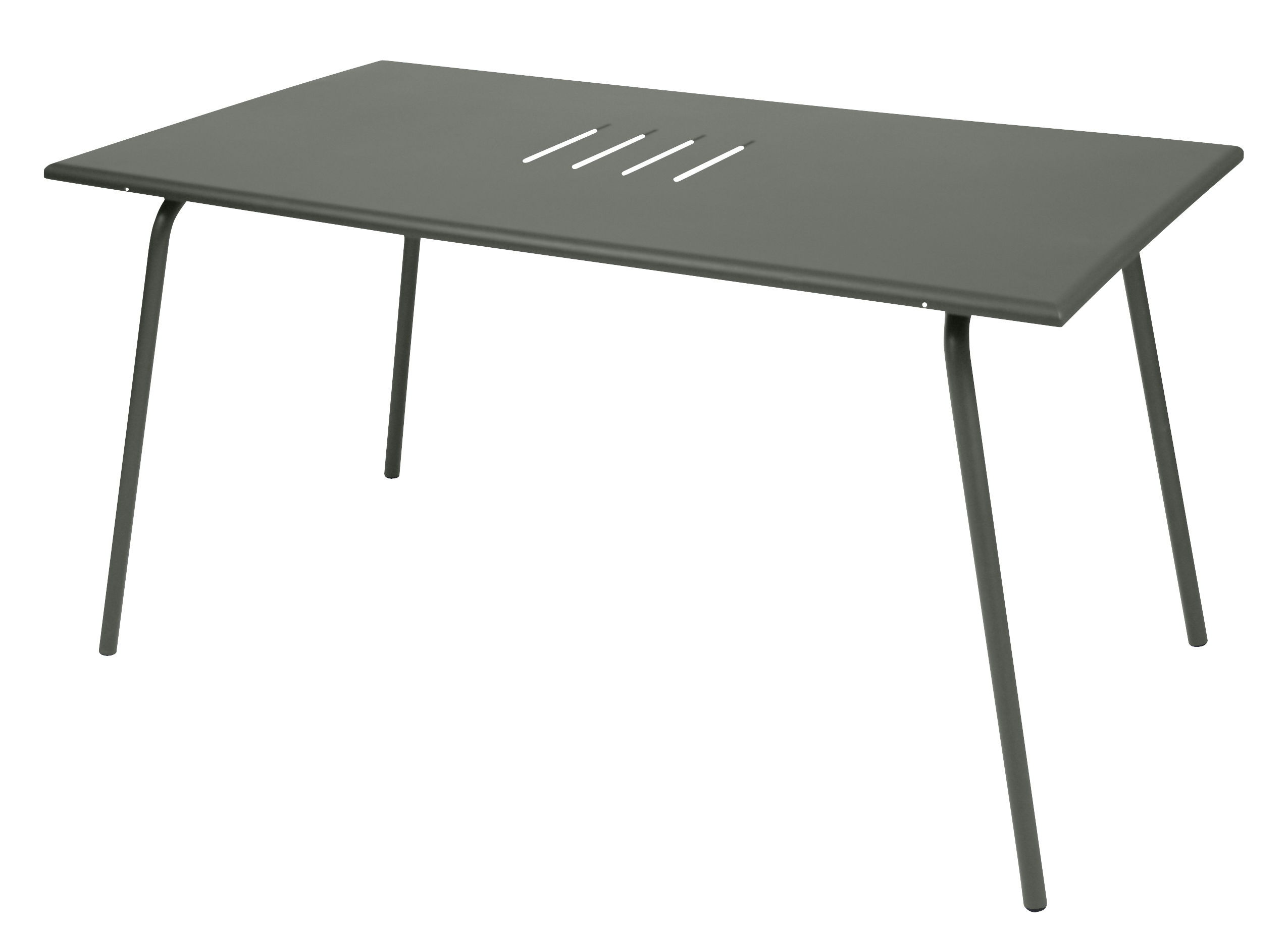 monceau table 146 x 80 cm 6 people rosemary by fermob. Black Bedroom Furniture Sets. Home Design Ideas