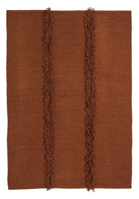 Tapis Mia / 170 x 240 cm - Nanimarquina rouille en tissu