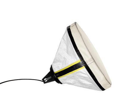 Drumbox Tischleuchte / Bodenlampe - Ø 45 cm - Diesel with Foscarini - Weiß,Neongelb