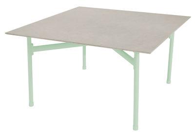 Kira Couchtisch / Tischplatte aus emailliertem Steinzeug - Emu