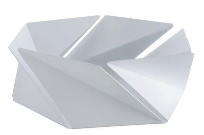 Image of Cestino Kaleidos - Alessi - Bianco - Metallo