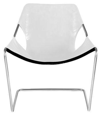 Paulistano Sessel Edelstahl - Objekto - Weiß