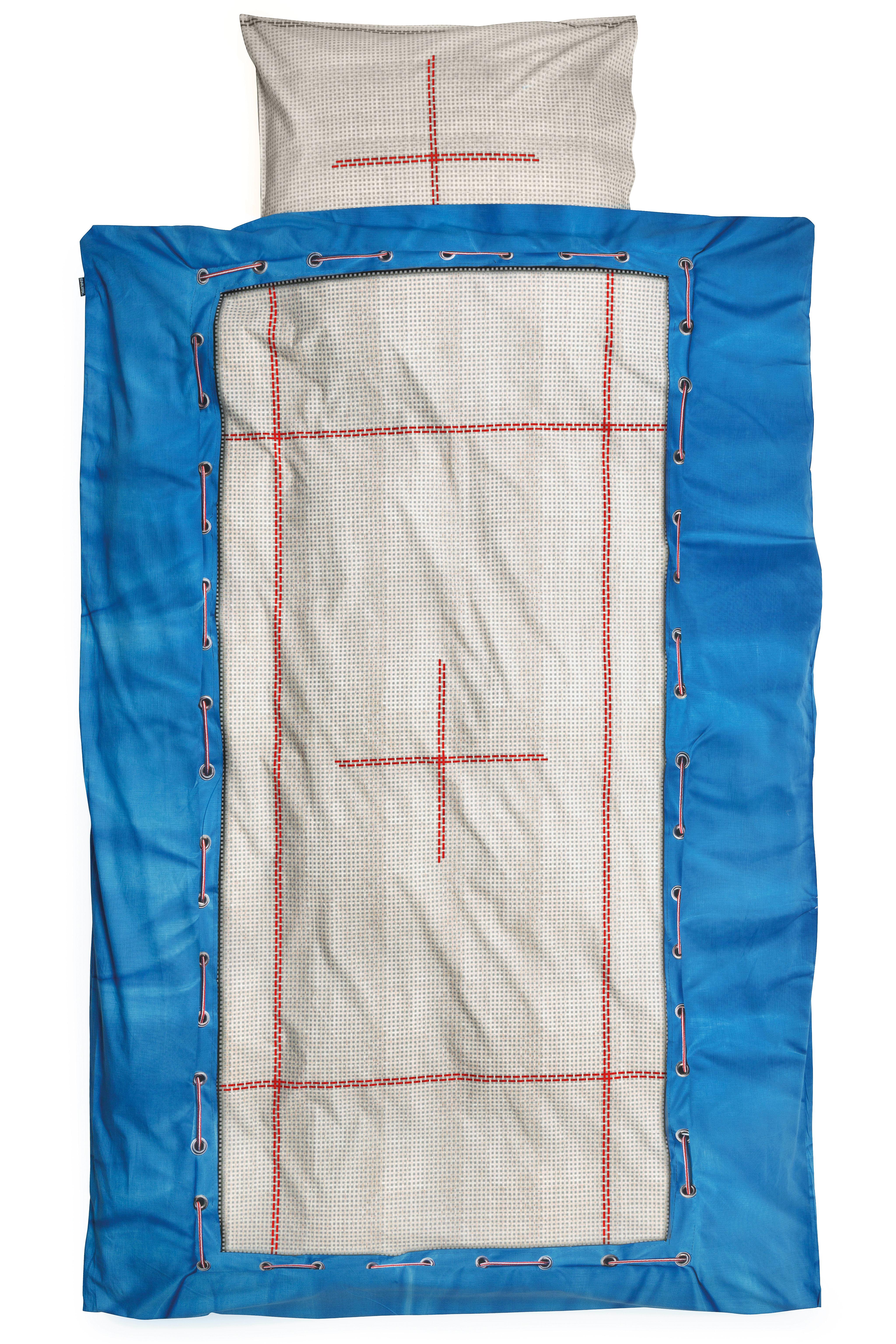 Parure de lit 1 personne trampoline 140 x 200 cm - Lit 1 personne dimension ...