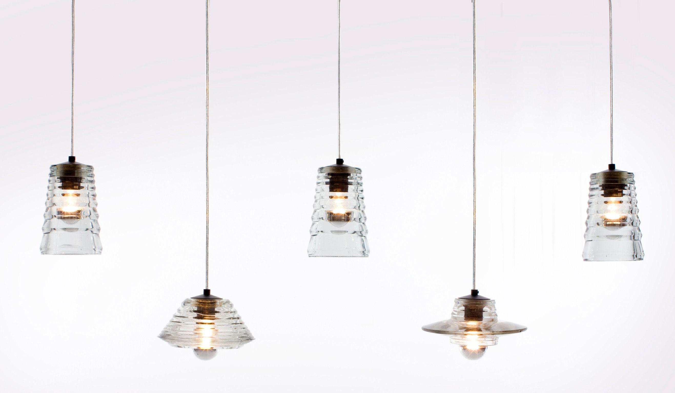 suspension pressed glass lens transparent tom dixon. Black Bedroom Furniture Sets. Home Design Ideas