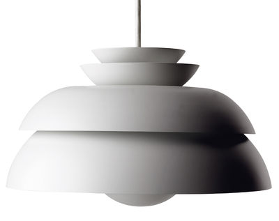 Lighting - Pendant Lighting - Concert Pendant by Lightyears - Lacquered white - Ø 32 cm - Lacquered metal