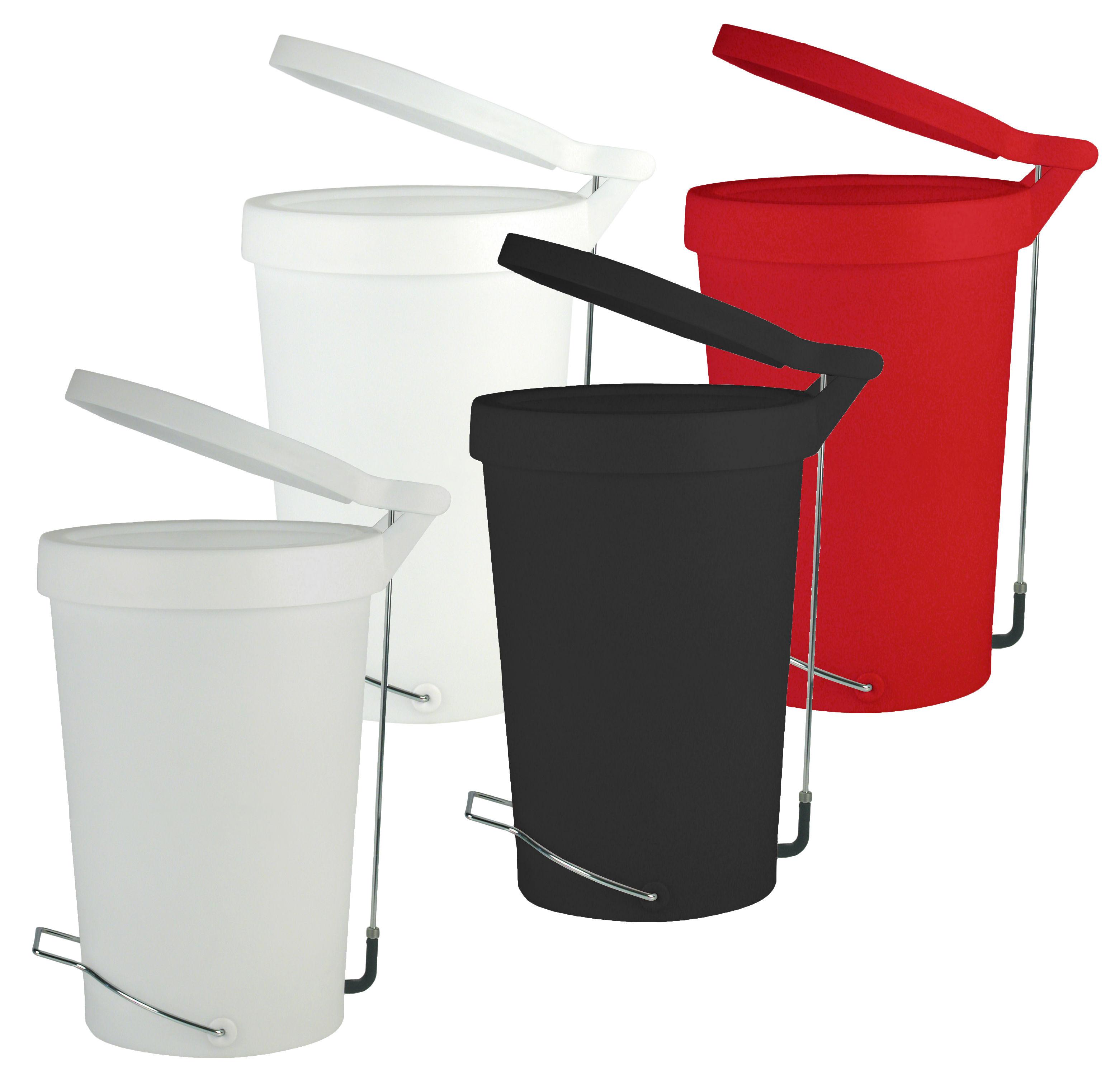 poubelle p dale tip 30 litres noir authentics. Black Bedroom Furniture Sets. Home Design Ideas