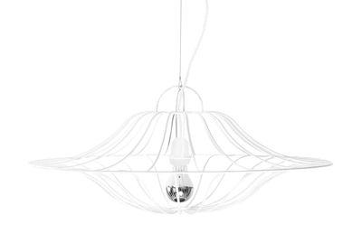 Suspension Ombrelle / Ø 60 cm - La Corbeille blanc en métal