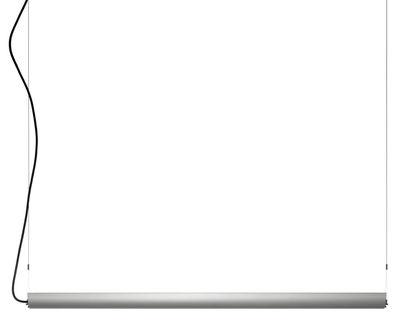 Luminaire - Suspensions - Suspension Updown - Belux - Aluminium - L 126 cm - Aluminium anodisé