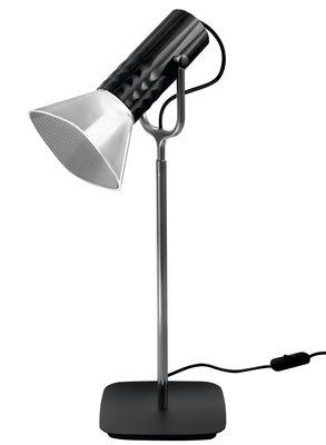 Foto Lampada da tavolo Fiamma / LED - H 54 cm - Artemide - Nero,Metallo - Metallo