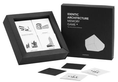 Déco - Pour les enfants - Jeu éducatif Identic / Jeu de memory - cinqpoints - Noir & Blanc - Papier