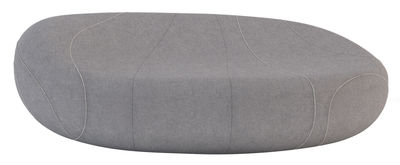 Furniture - Sofas - Gilda Livingstones Straight sofa - Woollen version - Indoor use by Smarin - Anthracite with edging - Bultex, Wool