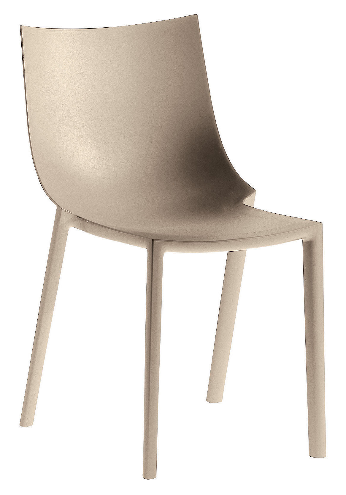bo stacking chair plastic braun by driade. Black Bedroom Furniture Sets. Home Design Ideas