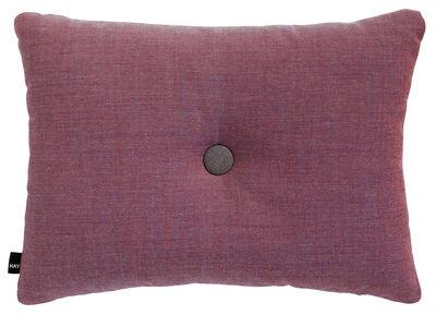 Coussin Dot - Surface / 60 x 45 cm - Hay bordeaux en tissu