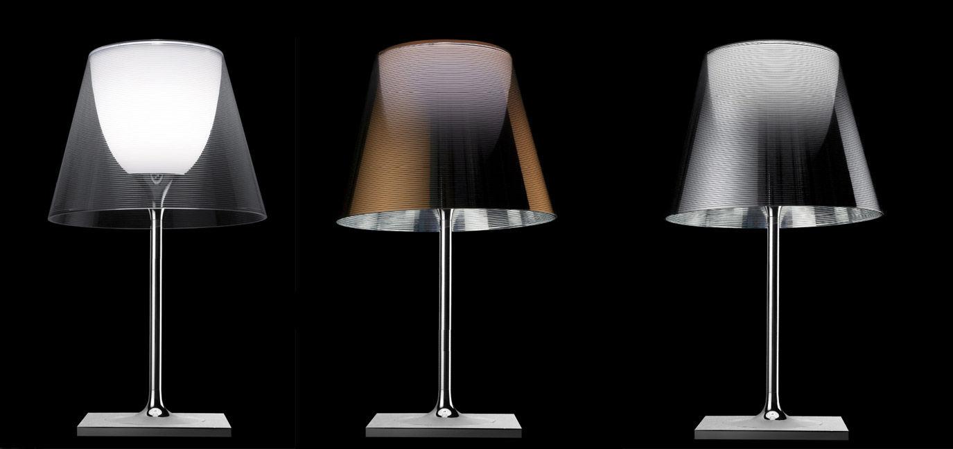 Scopri lampada da tavolo k tribe t2 soft tessuto for Lampada da tavolo design flos