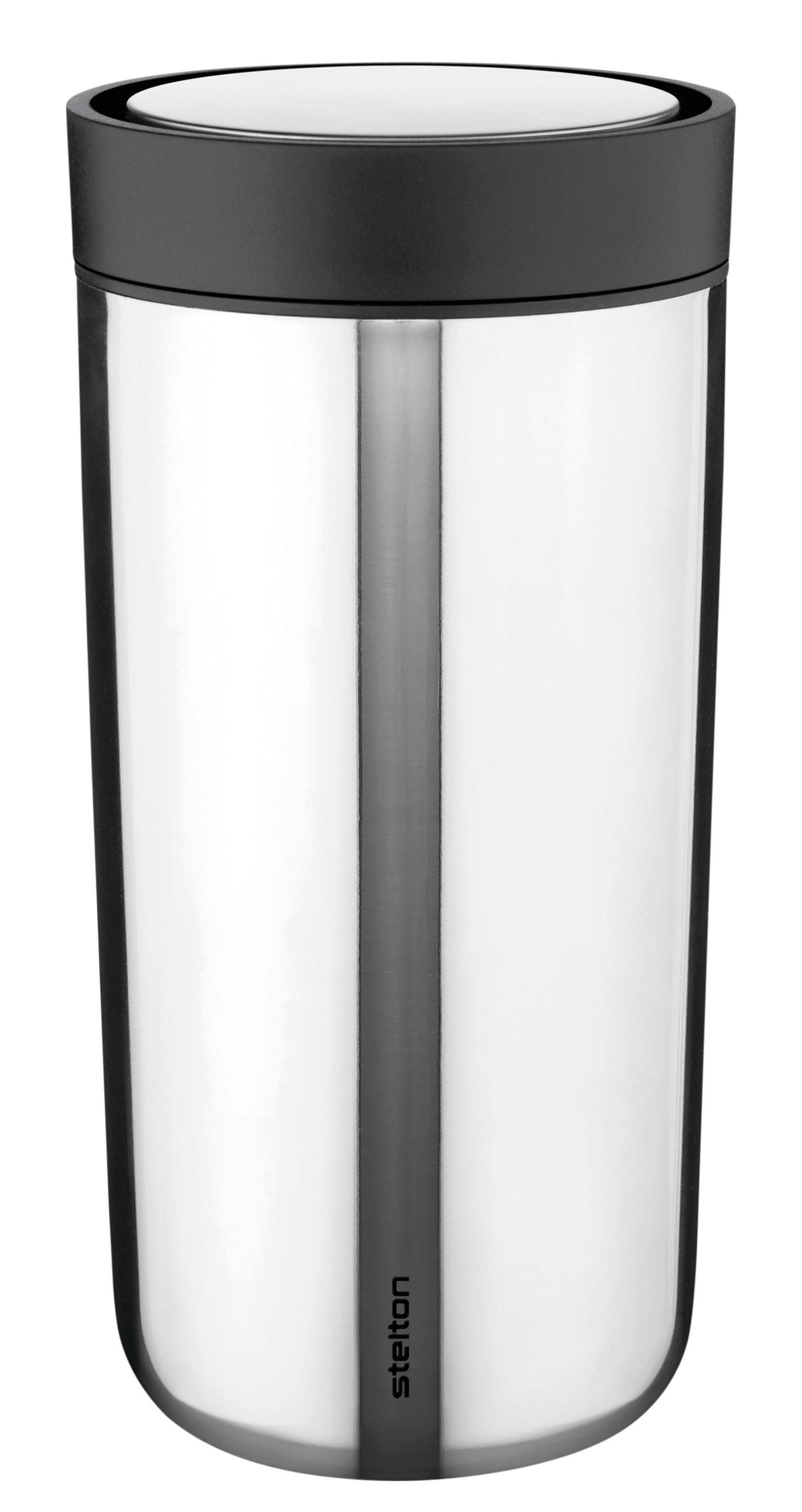 mug isotherme to go click large 34 cl acier stelton made in design. Black Bedroom Furniture Sets. Home Design Ideas